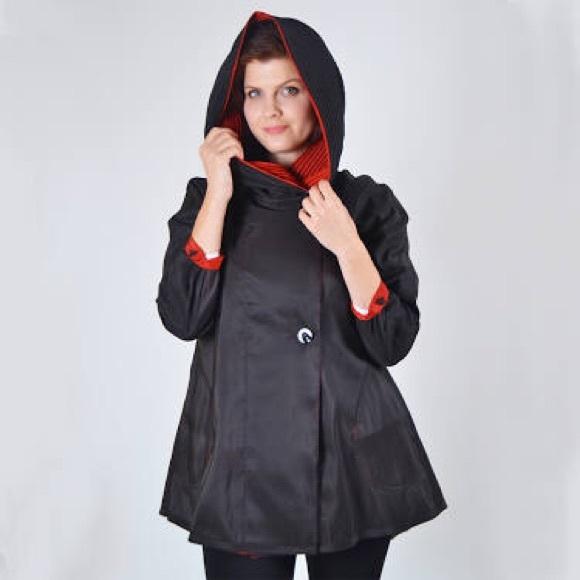 eBay-Hydra Pac Mini Donatella Rain Coat Sz Small